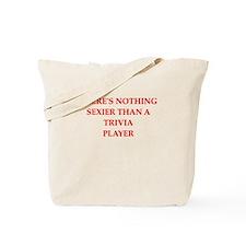 trivia Tote Bag