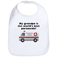 My Grandpa Is The Words Best Paramedic Bib
