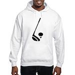 Golf Club & Ball Hooded Sweatshirt