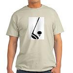 Golf Club & Ball Light T-Shirt