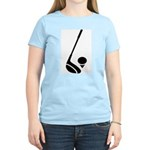 Golf Club & Ball Women's Light T-Shirt