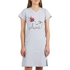 Ladybug Ava Women's Nightshirt