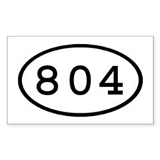 804 Oval Rectangle Decal