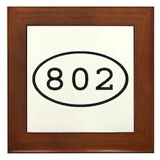 802 Oval Framed Tile