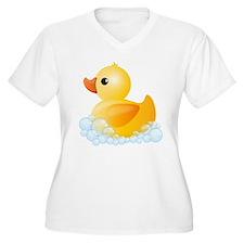 Rubber Duck Plus Size T-Shirt