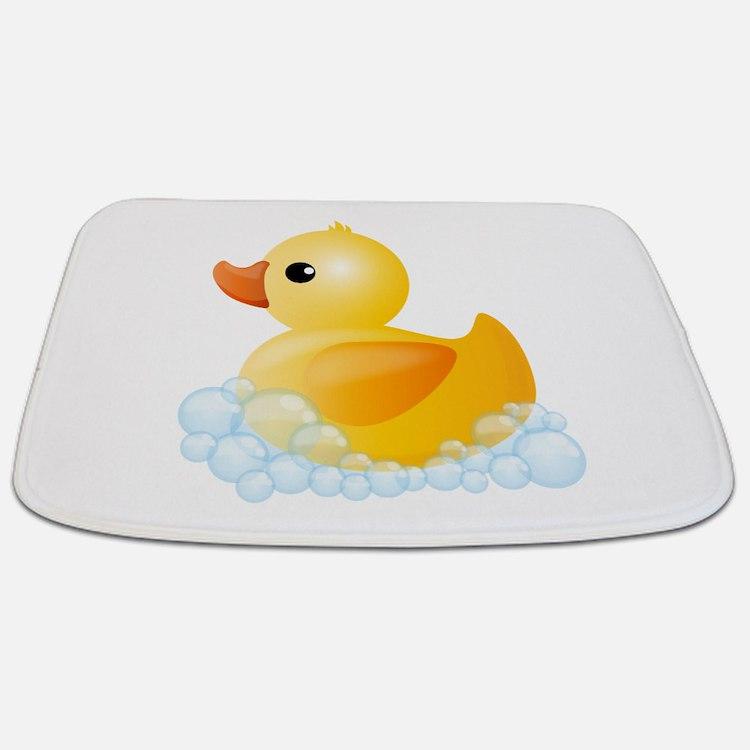 Yellow Duck Bathroom Accessories Decor CafePress