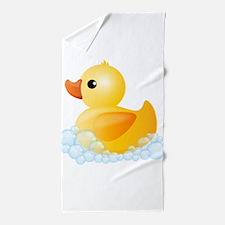 Rubber Duck Beach Towel