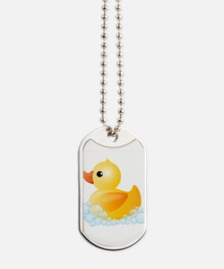 Rubber Duck Dog Tags