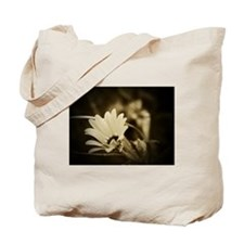 Darkness and light Flower tote