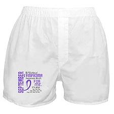 H Lymphoma Awareness Month Boxer Shorts