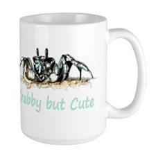 Crabby but Cute Fun Quote with Crab Mugs