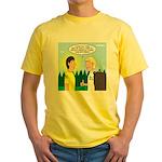 Tick Pet Yellow T-Shirt