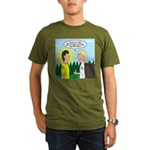 Tick Pet Organic Men's T-Shirt (dark)