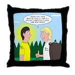 Tick Pet Throw Pillow