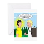 Tick Pet Greeting Cards (Pk of 10)