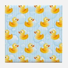 Little Ducks Tile Coaster