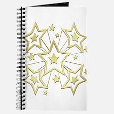 Unique Gold star Journal