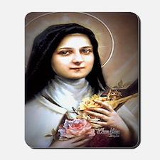 Saint Therese Lisieux Mousepad