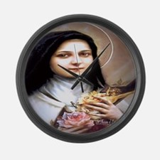 Saint Therese Lisieux Large Wall Clock