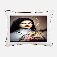 Saint Therese Lisieux Rectangular Canvas Pillow
