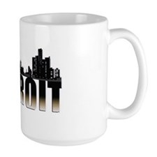 Detroit Skyline MugMugs