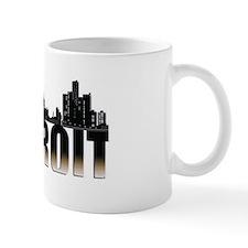 Detroit Skyline Mug Mugs