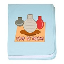 Love To Throw baby blanket