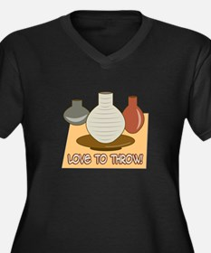 Love To Throw Plus Size T-Shirt