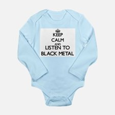 Keep calm and listen to BLACK METAL Body Suit