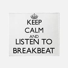 Breakbeat Throw Blanket