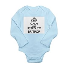 Keep calm and listen to BRITPOP Body Suit