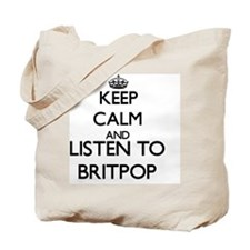 Unique Britpop Tote Bag