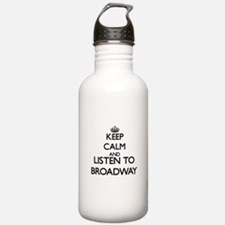 Funny I love radio Water Bottle