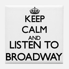 Funny Broadway Tile Coaster