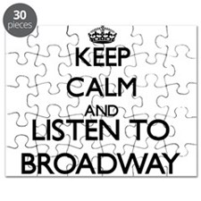 Unique Broadway musical Puzzle