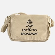 Funny Broadway Messenger Bag