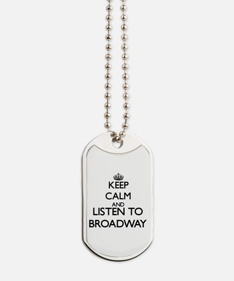 Funny Broadway Dog Tags