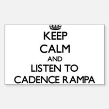 Keep calm and listen to CADENCE RAMPA Decal