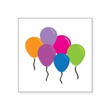 Colorful Balloons Sticker