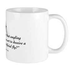Angling is an art Mug