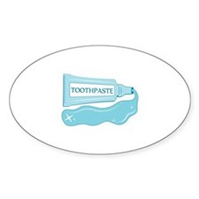 Sparkle Toothpaste Decal