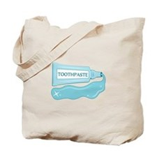 Sparkle Toothpaste Tote Bag