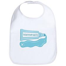 Sparkle Toothpaste Bib