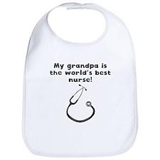 My Grandpa Is The Words Best Nurse Bib
