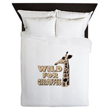 WILD FOR GIRAFEES Queen Duvet
