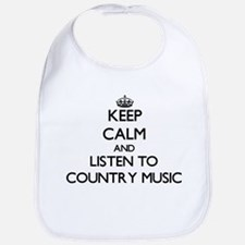 Funny Country music Bib