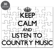 Cute Country music Puzzle