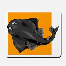 Black Devil Ray Mousepad