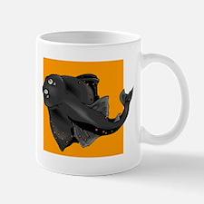 Black Devil Ray Mugs