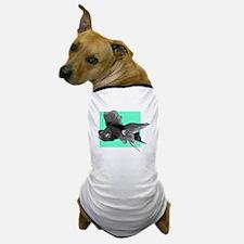 Black Betta Fish Dog T-Shirt
